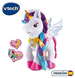 Vtech - Unicornio para Aprender a Maquillar Mientras Descubre Los Colores, Multicolor (80-182522)