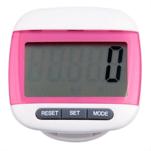 Digital LCD Running Walking Calorie Pedometer Step Counter