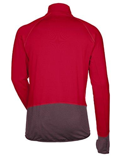 Vaude Herren Livigno Halfzip Pullover Indian red/Raisin