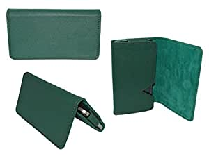 Premium Branded Wallet Pouch For Microsoft 808 PureView - WTPGR45#1231 - Green