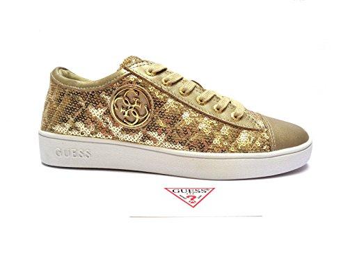 GUESS (Ghelda) Sneaker Donna Para Paillettes Oro FLGHE1-SAT12 Oro