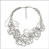 Mujer Collar Collares en Capas Multi Capa Importante Diseño Único De...