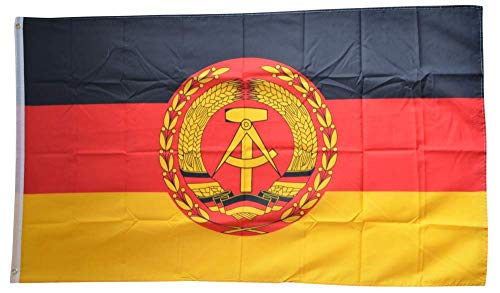 Flaggenfritze® Flagge/Fahne Deutschland DDR Nationale Volksarmee NVA - 90 x 150 cm