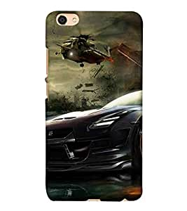 For Vivo Y55 :: Vivo Y55L :: Vivo Y55s nice car, super car, beautiful car, fantastic car, car, war, helicoper Designer Printed High Quality Smooth Matte Protective Mobile Pouch Back Case Cover by BUZZWORLD