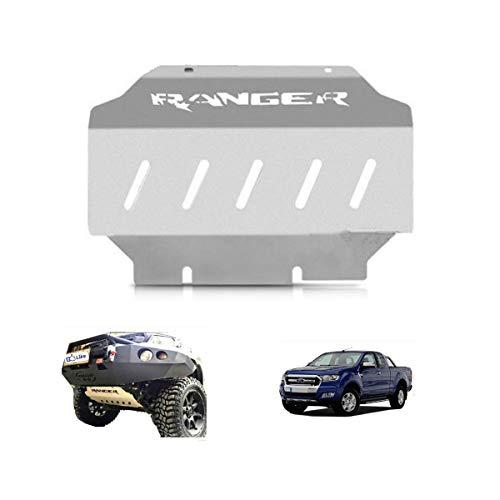orun Skid Plate Guard vorne Motor Boden für Ford Ranger MK 201520162017Silber