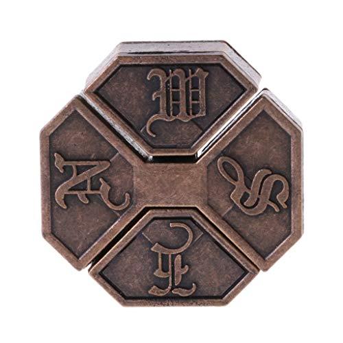 Kofun Legierungs-Kasten, Puzzlespiel-Legierungs-Kasten-Verschluss-Denkaufgabe Iq-Test spielt Erwachsene Kinder
