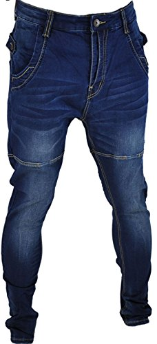 Jeans homme fashion, jeans skinny, jeans sarouel bleu874