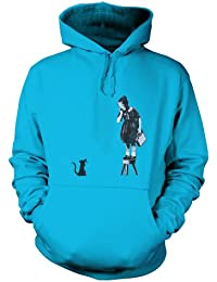 Banksy Girl On Stool Hoodie