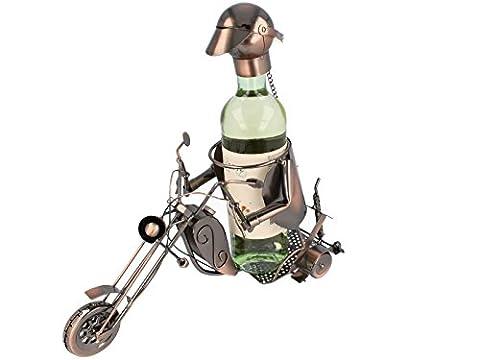 KUPFER Flaschenhalter Motorrad Harley Davidson Weinflaschenhalter Weinständer