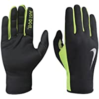 Mens Rally Run Gloves 2.0 - Black/Volt