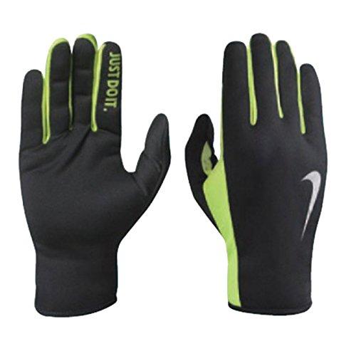 Mens Rally Run Gloves 2.0 - Black/Volt