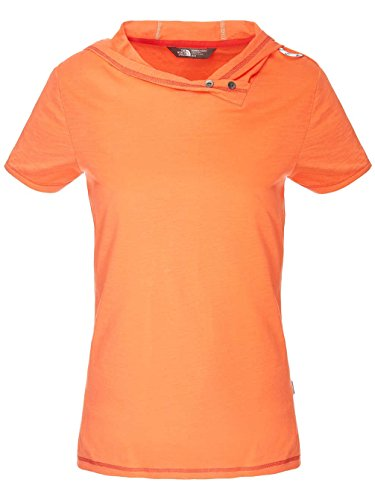The North Face Pantaloncini W Flyara S/S Tee emberglow orange