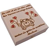 """Hochzeitskassette, 17 cm """"Abenteuer"""" preisvergleich bei billige-tabletten.eu"""