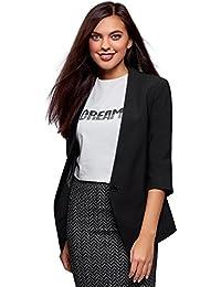 Amazon.it  Giacche Blazer Donna - oodji Ultra  Abbigliamento dfc69d9125c