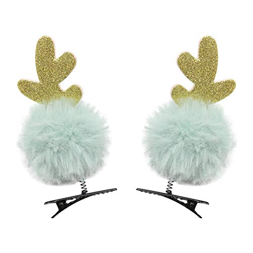 Huacat Weihnachtskinder Haarnadel Netter Frühling Haarschmuck Tiara Dress Up Headwear Haarband...