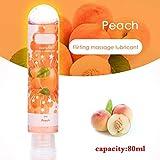 LAWARY Prodotti per Il Sesso con Olio per Massaggi Corpo lubrificante al Gusto di Frutta da 80 ml per Donna Uomo