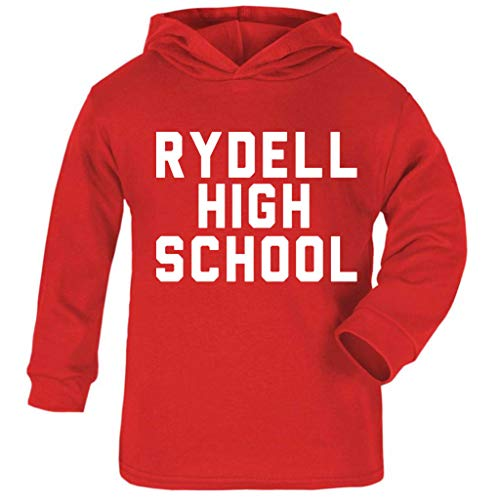 Kostüm Kinder Sandy Grease - Cloud City 7 Grease Rydell High School Baby and Kids Hooded Sweatshirt