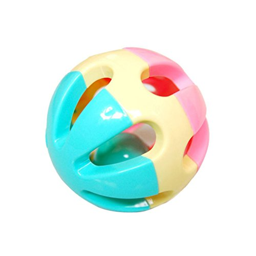 Amazemarket Bébé Hochet Main Shaker Ballon Rampant Musical Jouet Cadeau Pour Des gamins Drôle de bonne heure Intelligent Développement Couleur aléatoire