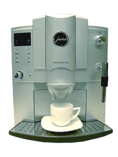 Jura Espresso Vollautomat E 85 Impressa platin