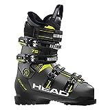 HEAD Herren Advant Edge 75 Skischuhe, Anthracite/Black/Yellow, 255