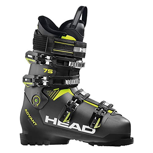 HEAD Herren Advant Edge 75 Skischuhe Anthracite/Black/Yellow, 275