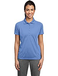 Sport-Tek® Ladies Dri-Mesh® Pro Polo. L474 Carolina Blue XS