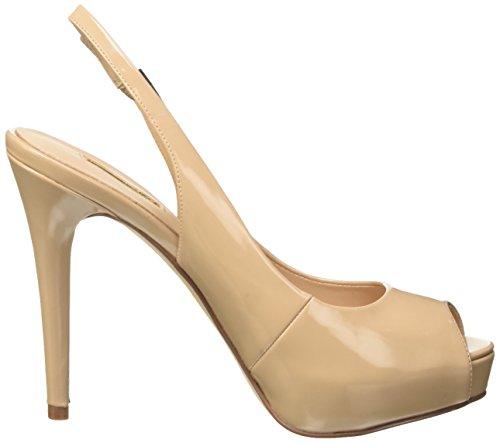 Beige Femme Talons Compensés Chaussures Beige Nude Pu Guess à Patent wZIU0UYq