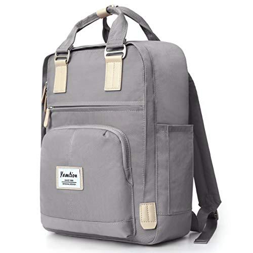 YAMTION Rucksack Damen und Herren Daypack Unisex,Schulrucksack Laptop Rucksack Frauen Tagesrucksack mit Laptopfach für 15.6 Zoll Laptop,für Schule Universität Freizeit Arbeit