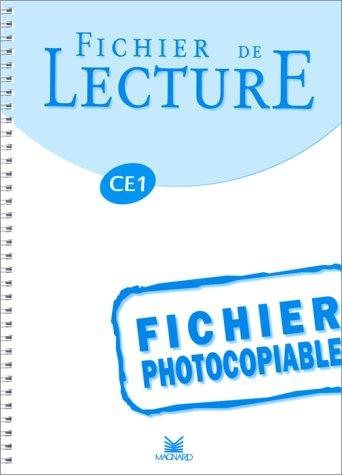 Fichier photocopiable de lecture, CE1