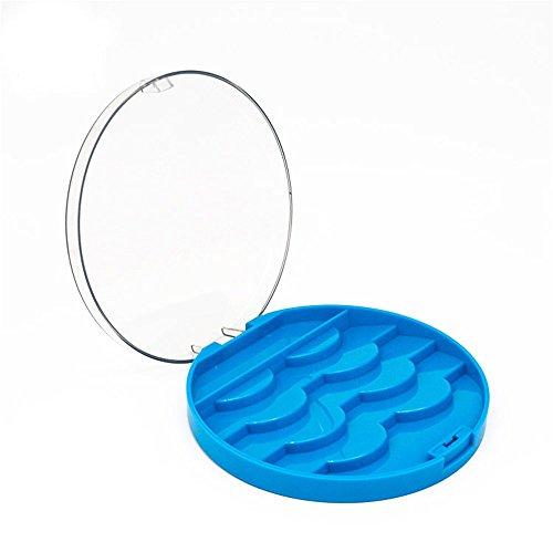 ��Rifuli® Acryl süße Bogen falsche Wimpern Aufbewahrungsbox Make-up Kosmetik Fall Veranstalter Wimpernpflege Wimpern handgemachte Falsche KlebstoffWiederverwendbare ()