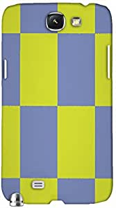 Timpax protective Armor Hard Bumper Back Case Cover. Multicolor printed on 3 Dimensional case with latest & finest graphic design art. Compatible with Samsung Galaxy Note II N7100 Design No : TDZ-22112