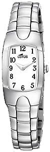 Lotus - Reloj de acero para mujer 15304/E