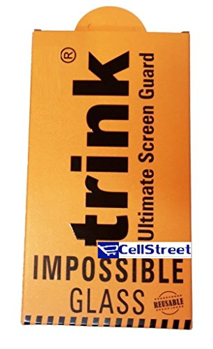 Trink Branded 0.2 MM Unbreakable Reusable impossible Tempered Glass Screen Guard Scratch Guard Protector for Panasonic Eluga S - by ECellStreet