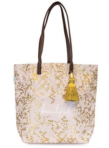 Papaya Aufbewahrungsbox für Eimer, Quarz, vergoldete Blumen -