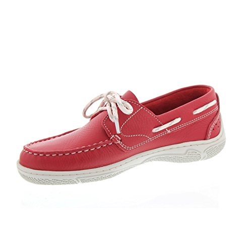 Stivale Donna Tbs Nellia 4706, Rouge, Pelle Rossa Rouge (rosso)