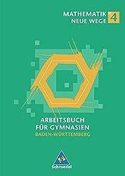 Mathematik Neue Wege SI - Ausgabe 2004 für in Baden-Württemberg: Arbeitsbuch 4