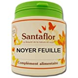 Santaflor - Noyer feuille - gélules1000 gélules gélatine bovine