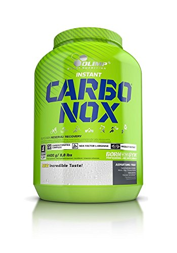 Olimp Sport Nutrition Carbonox Carbohidratos, Sabor a Fresa - 3500 gr