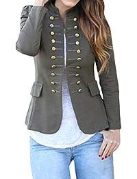 el precio más bajo 30127 45c06 Amazon.es: chaqueta militar mujer - Chaquetas de traje y ...