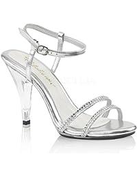 Fabulicious Sandaletten mit Straß Caress-416 Brautschuhe
