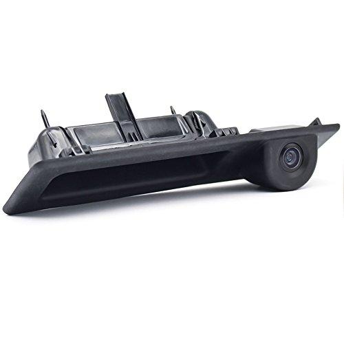 Dynavsal Griffleiste Kofferraum Griff Wasserdicht 170° umkehrbar fahrzeugspezifische Kamera in Koffergriff integriert Rückfahrkamera Compatible with BMW 5er X1 X3 X5 X6 F10 F11 F25 F30 535Li 530i