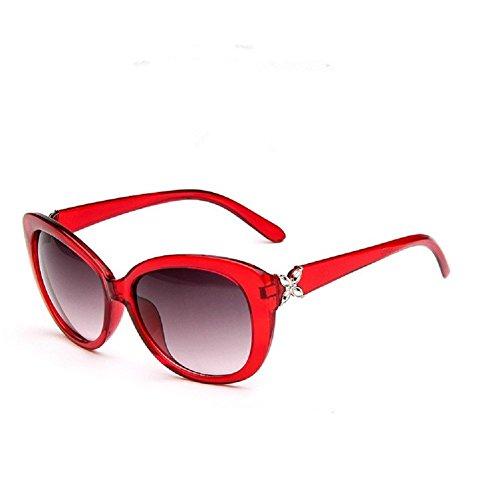 Giftsbynet - Lunette de soleil - Femme Rouge Rouge SWFsP6hDiB