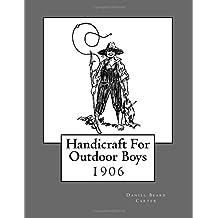 Handicraft For Outdoor Boys