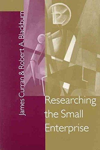 [Researching the Small Enterprise] (By: James Curran) [published: May, 2001]