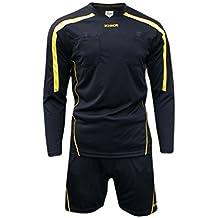 Ichnos Uniforme de árbitro fútbol (Camiseta y pantalón Corto) ...
