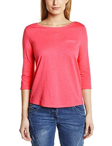 Cecil Damen Basic Shirt neo Coralline red XXL