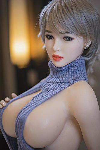 170cm Sexpuppe Liebespuppe Lovedoll aus Silikon TPE mit 3 Öffnungen Vagina Anal Oral - 5