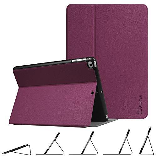 Foto Fintie Custodia Cover per iPad 9.7 Pollici2018 2017 / iPad Air 2 / iPad Air - Multi-Anglo Sottile Pieghevole Folio Cover Case Protettiva con Funzione Auto Sveglia/Sonno, Porpora