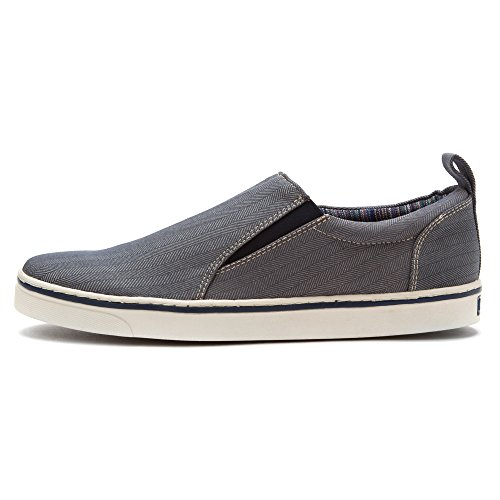 Vionic with Orthaheel Technology Mens Conner Slip-On Navy Size 10 Bleu Marine