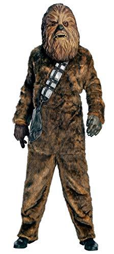 Erwachsene Chewbacca Für Kostüm - Rubbies Krieg der Sterne-Kostüm für Herren, Einheitsgröße (56107)
